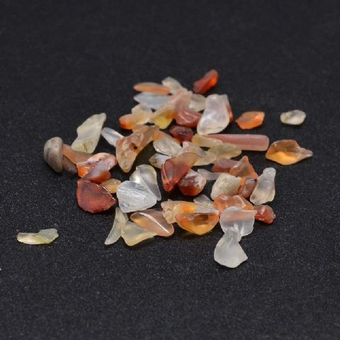 Chips - Natural Carnelian 2~8mm - 50g